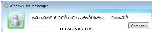 letras lindas para orkut de Msn Messenger